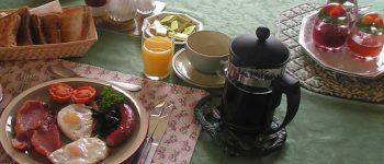 Dartmoor BnB Full English Breakfast